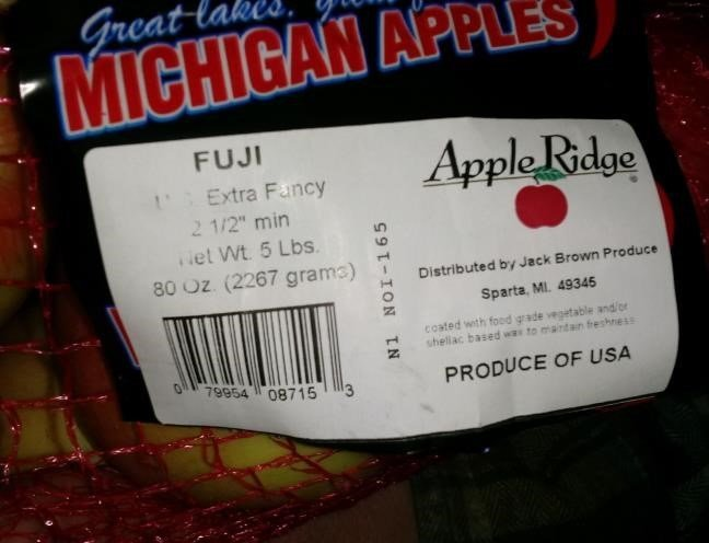Produce recall targets apples sold in MI stores
