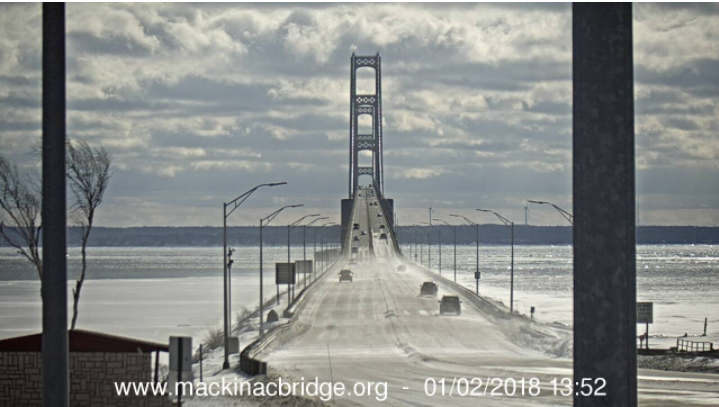 Courtesy: Mackinac Bridge Authority