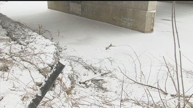 Video: Saginaw officers being hailed heroes after rescuing woman from ice