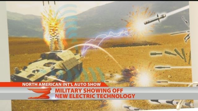 AUTO SHOW: Electrifying military vehicles