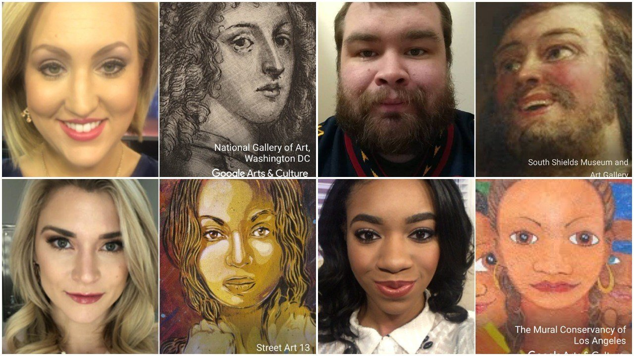 Google Arts & Culture App Picks Country Stars' Portrait Doubles
