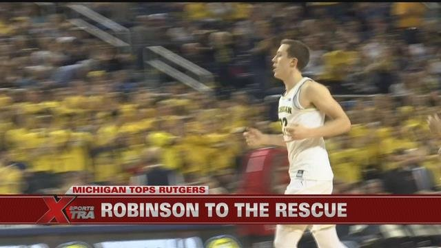 Duncan Robinson shines in win over Rutgers