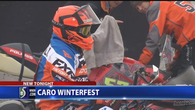 Snowmobilers race to Caro's Winterfest
