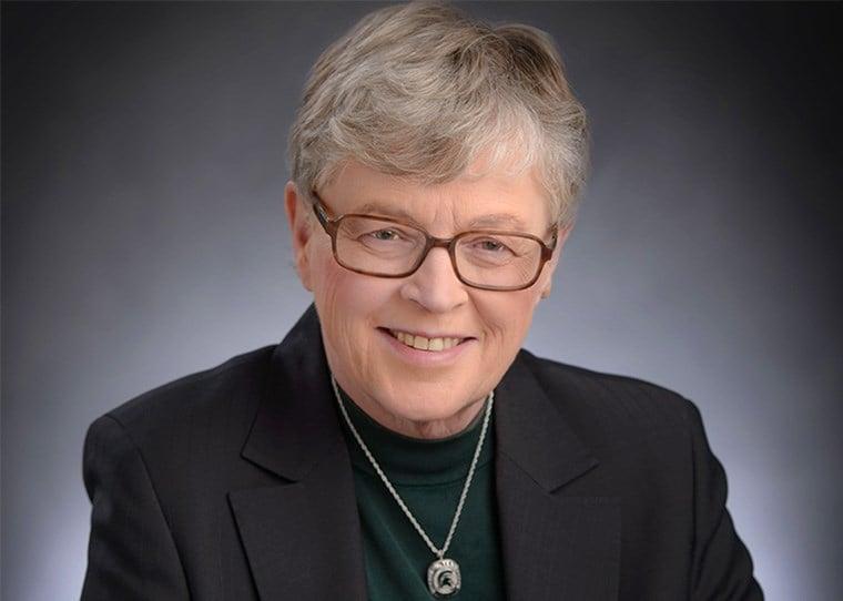 Lou Anna K. Simon (Source: MSU)