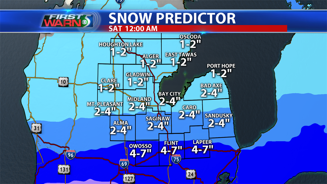 Timing, totals for incoming winter storm