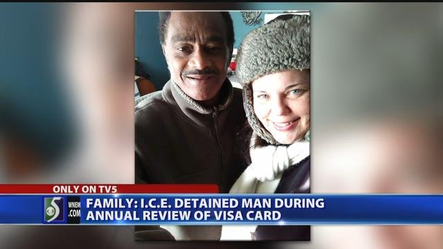 Family: ICE detained man during annual review of visa card