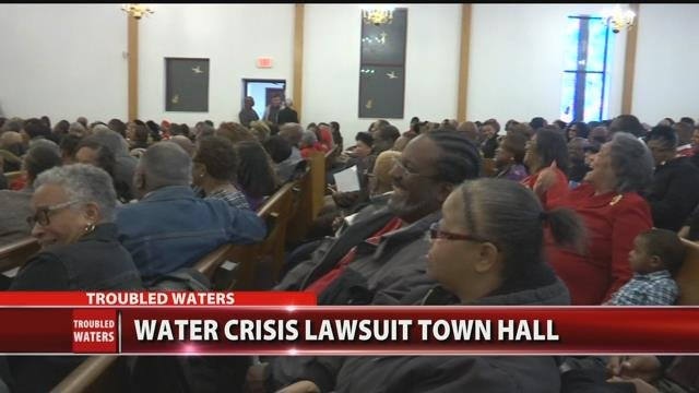Video: Town hall meeting held for Water Crisis lawsuit