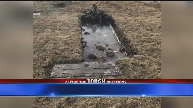 Woman concerned over conditions at local cemetery