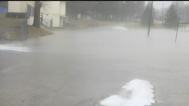 Persistent rain creating concerns over flooding