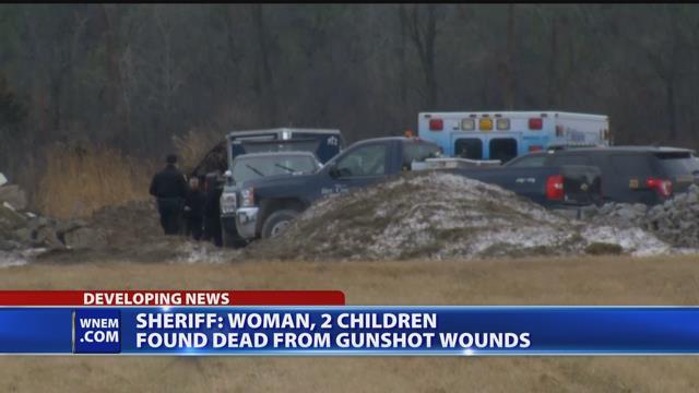 Video - Sheriff: Woman, 2 children found dead from gunshot wounds
