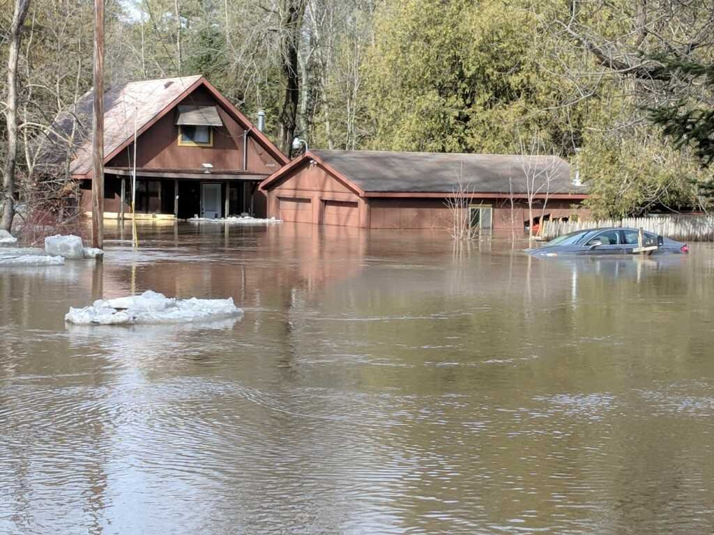 Rifle River flooding (Source: National Weather Service)