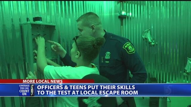 Video: Officers build positive relationships with youth through Bridge the Gap