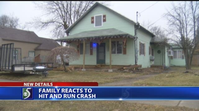 Family reacts to hit-and-run crash