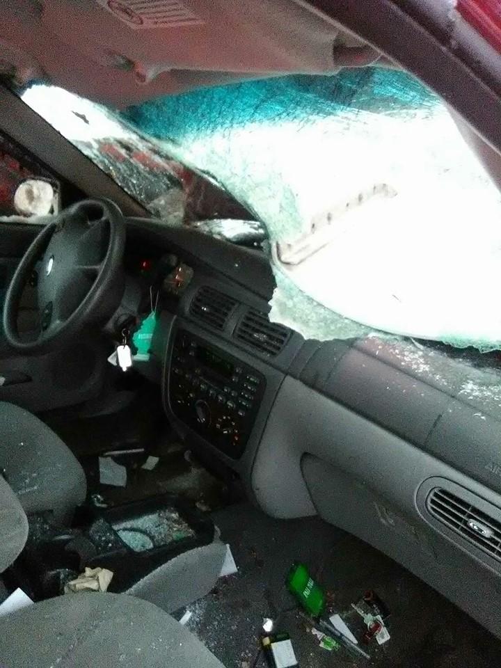 No Serious Injuries In Car Vs Semi Accident WNEM TV - In car