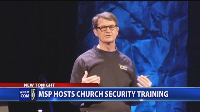 MSP hosts church security training