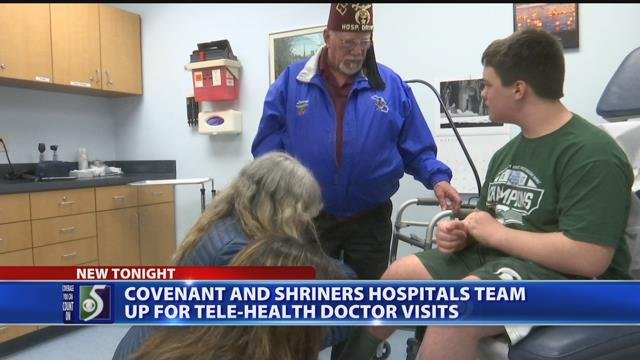 Video: Covenant partners up with Shriners to help MI patients