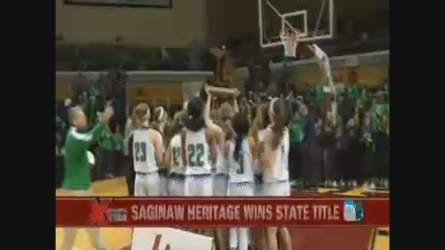 Heritage wins state basketball tournament
