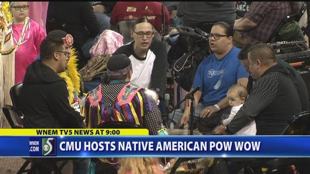 Video: CMU hosts Native American pow wow