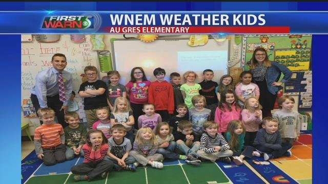 Weather kids: Au Gres Elementary