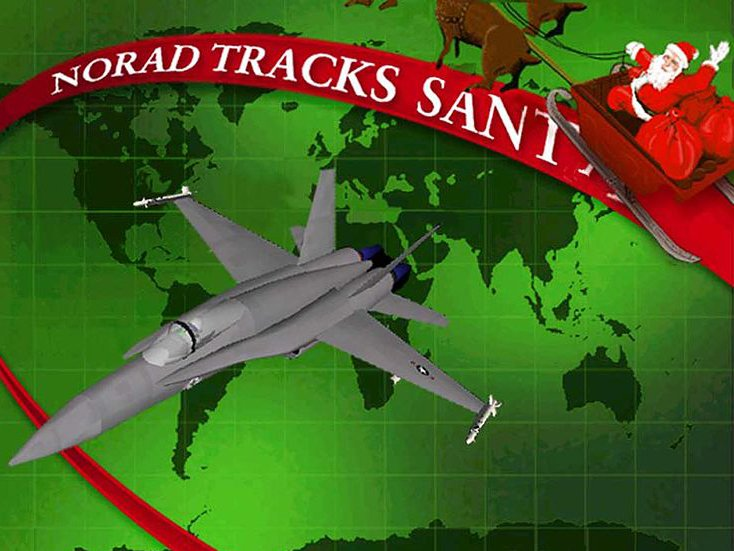 US Santa trackers having record holiday
