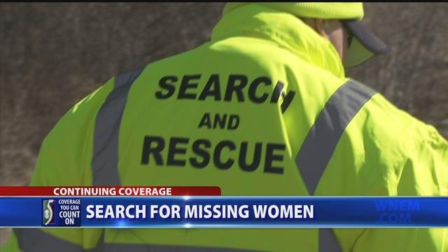 Video: Search for missing women