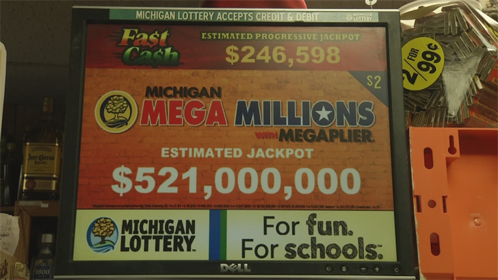 Mega Millions jackpot up to $521 million as drawing nears