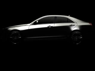 Cadillac's long-awaited rival to the BMW 3-Series, the 2013 ATS, will finally be revealed in Detroit. (©GM Corp.)