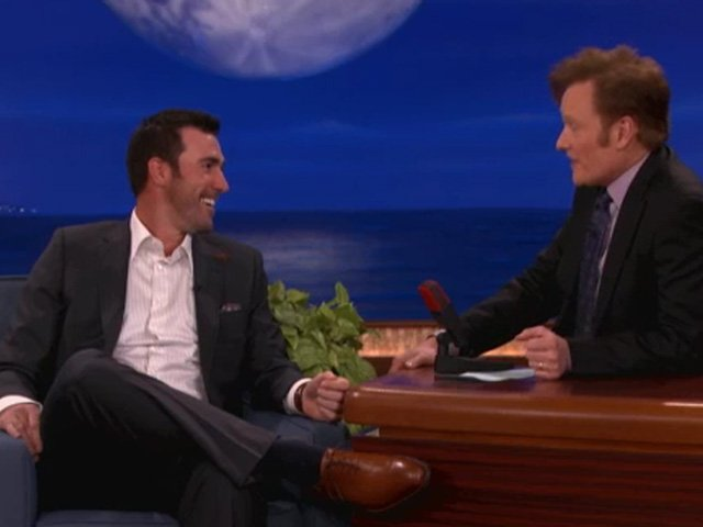 Tigers ace Justin Verlander appeared on 'Conan'