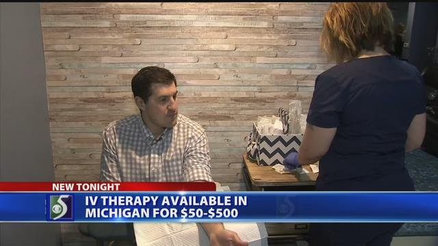 IV therapy available in Michigan