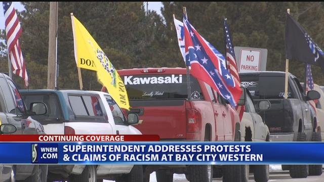 Superintendent addresses protests, claims of racism at Bay City Western