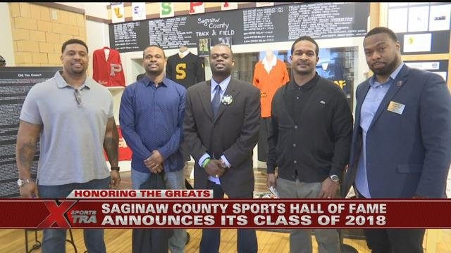 Saginaw County Sports Hall of Fame announces its Class of 2018 inductees