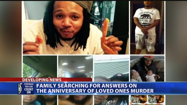 Family searching for answers on anniversary of loved one's murder