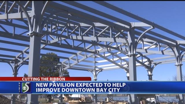New pavilion expected to help improve downtown Bay City