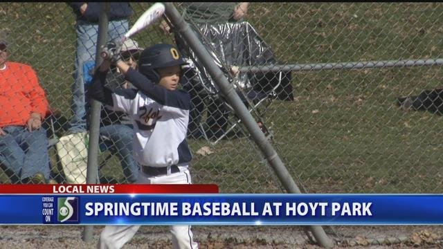Video: Warmer weather brings out youth baseball tournament