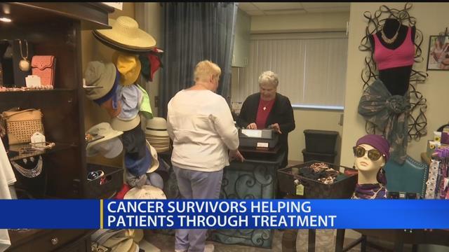 Cancer survivors helping patients through treatment