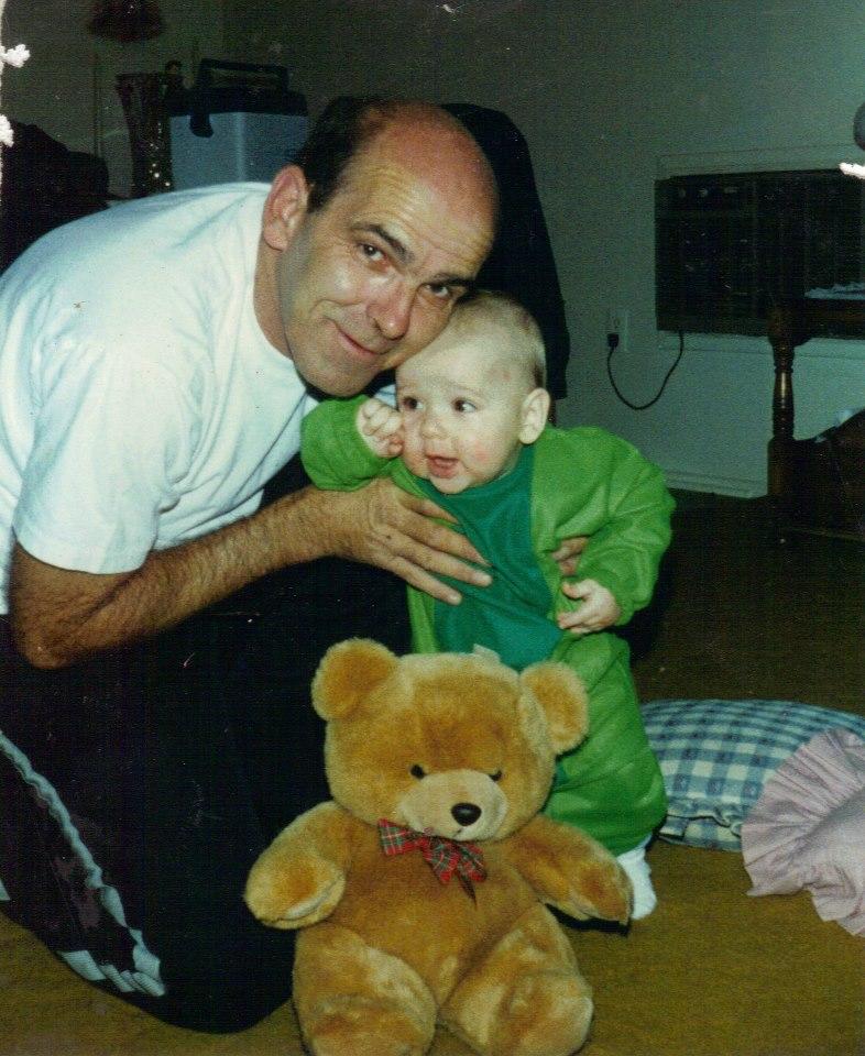 Bruce Coverdill (left) and his son Stephen Grzemkowski (right). (Courtesy photo)