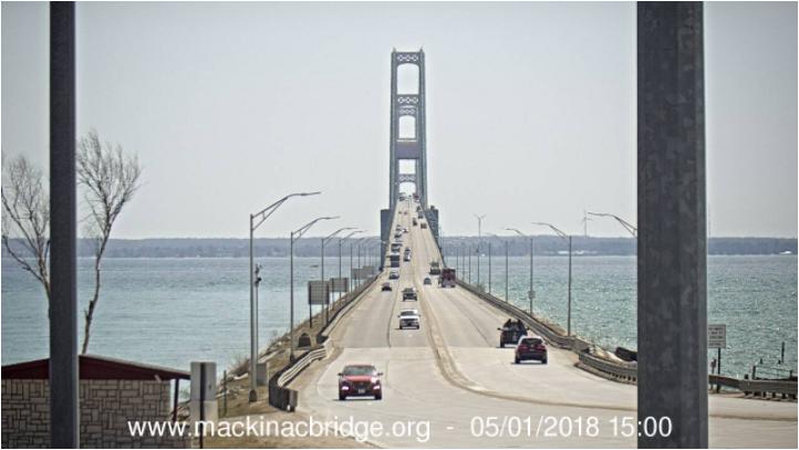 Source: Mackinac Bridge Authority