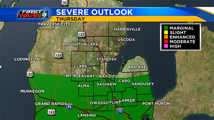 Severe Weather Potential Increasing