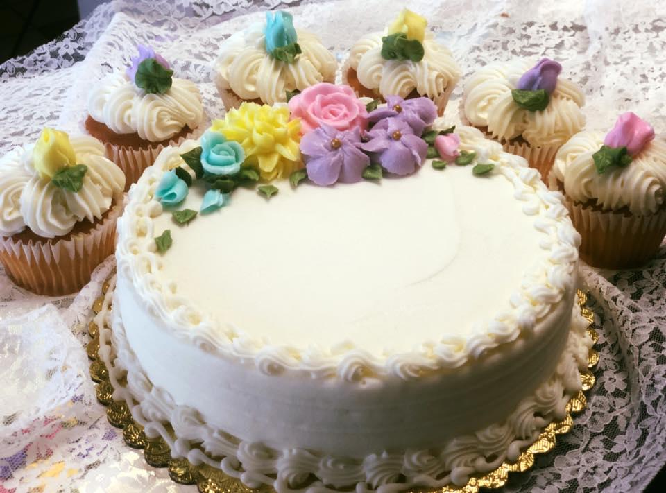 Patisserie's version of royal wedding cake (Source: Patisserie Bakery)
