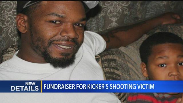 Fundraiser held for Kicker's shooting victim