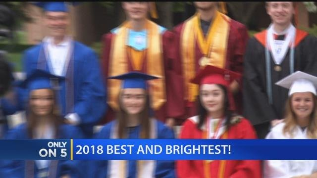 Video: High school graduates celebrated at Best and Brightest event