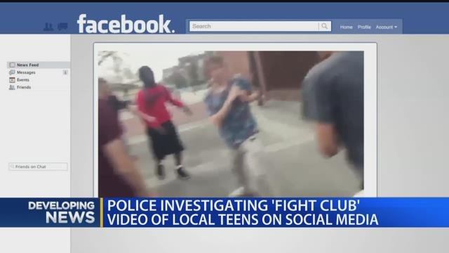 Police investigating 'fight club' video of local teens on social media