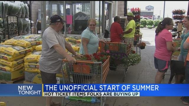 Hot ticket items for the holiday weekend