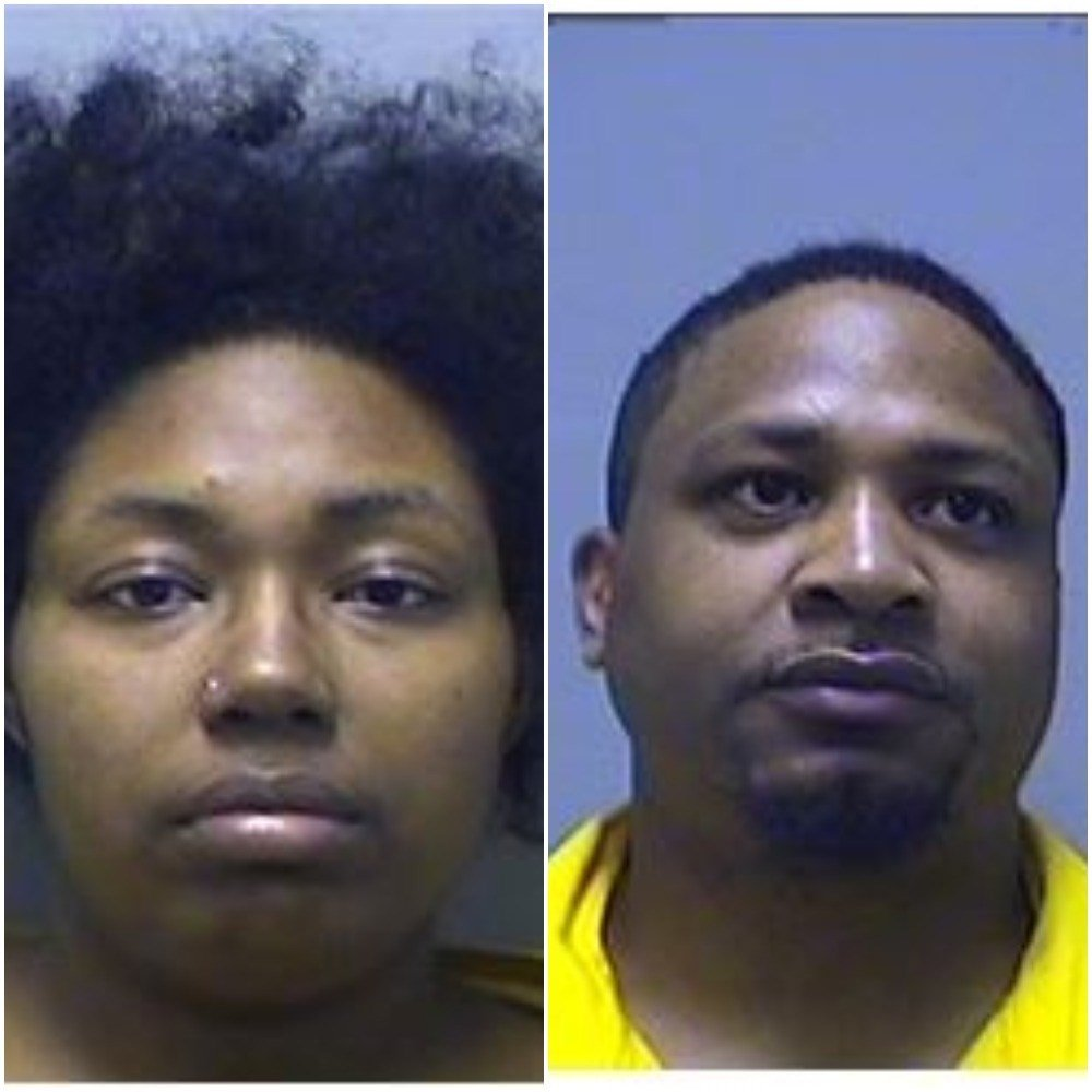 Alicia and Eric Brown (Source: Genesee County Jail)