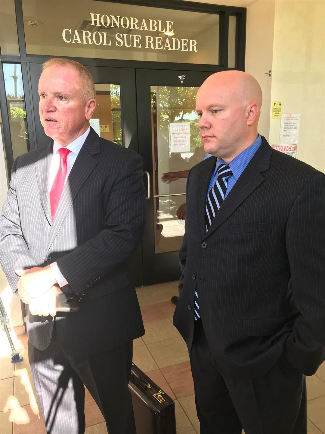 Mark Boudreau pictured on right (Source: WNEM)