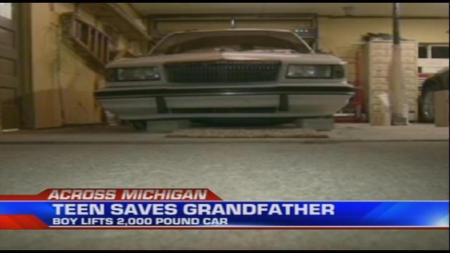grandpa teen in a lift video