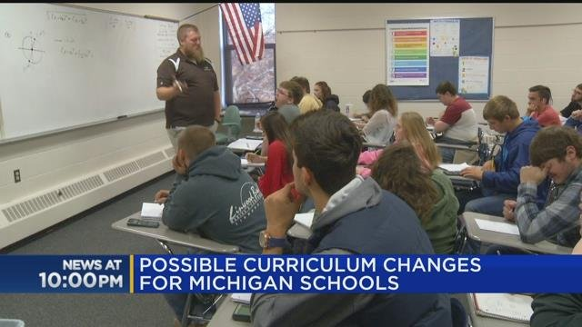 Possible curriculum changes for Michigan schools