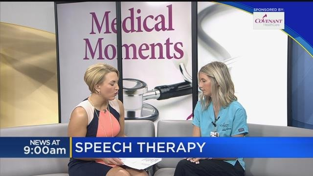 Medical Moments: Speech therapy