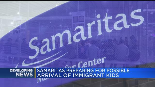 Samaritas preparing for possible arrival of immigrant kids
