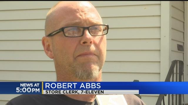 7-Eleven clerk details armed robbery at store this morning